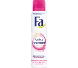 Fa Soft & Control Orangenblütenduft Antitranspitant Deodorant Spray für Frauen 150 ml