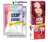 Marion Star Color Glattes Haar. Haar 2x35ml Rot 1621
